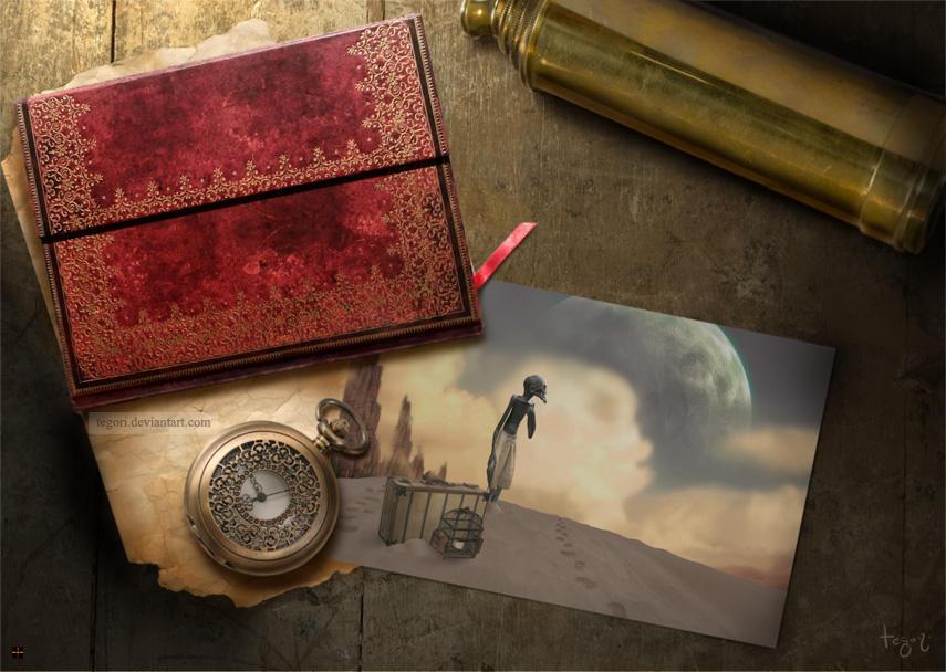 memories of an explorer by Tegori