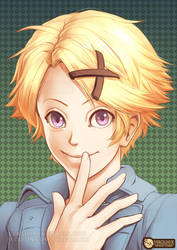 Style Experiment (Yoosung) by Vergiliaux