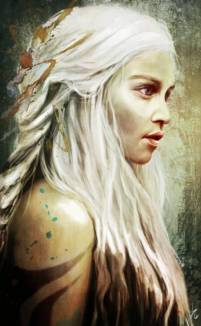 Daenerys Targaryen by ignacio197