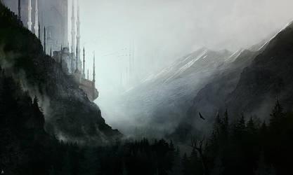 Guarding the Mountain Pass by ignacio197