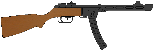 PPSh-41 by DaltTT