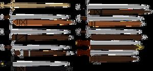 AoD Swords by DaltTT