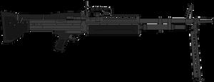 US Army Machine Gun M60 by DaltTT