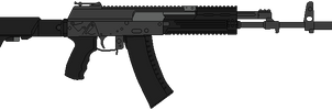 Kalashnikov AK-12 (Variant 2014) by DaltTT