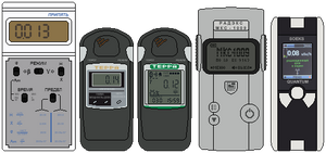 Russian Geiger Counters by DaltTT
