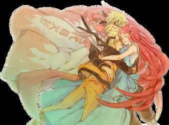 Naruto render by xPoisonousCherry