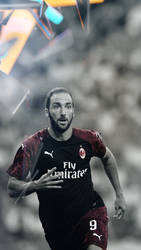 gonzalo higuain | Wallpaper Phone HD by MWafiq-10