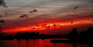 A Typical Kaiserswerth Sunset by aobaob