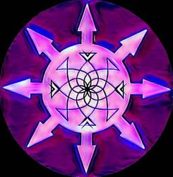 Flower Of Xaos -- CHAOSSTAR by ArtOfIllumination