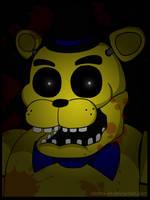 -FNaF- 'Golden Freddy' by Rebeka-KH