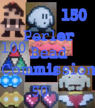 Perler Bead Point Commission by x-Darkie-x