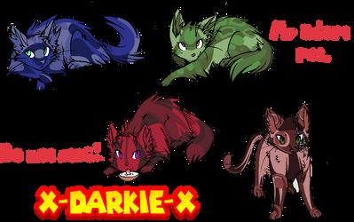 My Kitty Clan Pet by x-Darkie-x