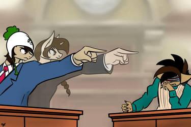 Darkie vs Hodot (Troy Jr) in court by x-Darkie-x
