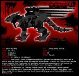 Zoids: Archangel Fury by FragmentChaos