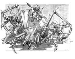 Mirkwood Spider Hunt by RedRo