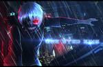 Tokyo Ghoul - Kaneki by LordTheDarkness