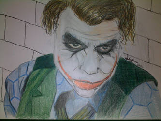 The Joker by lemoncurrymeetsyoshi