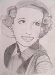 Bette Davis Eyes WIP by lemoncurrymeetsyoshi