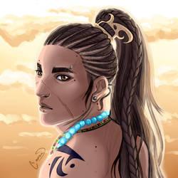 Demali Warrior by Cronaj