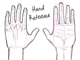 Hand Reference by Cronaj