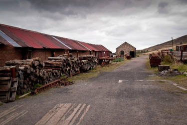 Big Pit lumber yard by adasha
