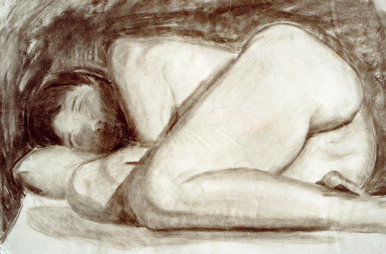 Untitled nude study 1 by adasha
