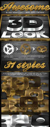3D Gold and Silver Generator by survivorcz