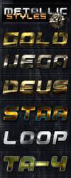Unique Metallic PS Styles by survivorcz