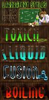 Laboratory Photoshop Styles by survivorcz
