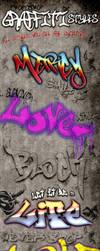Graffiti Photoshop Styles by survivorcz