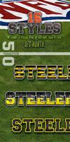 NFL Football Photoshop Styles - AFC North by survivorcz