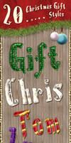 Christmas Gift - Photoshop Styles by survivorcz