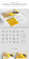 Construction Business Flyer 2 by survivorcz