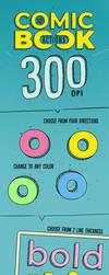 3D Comic Book - 300 DPI Actions by survivorcz