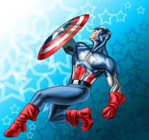 Captain America by sean-izaakse