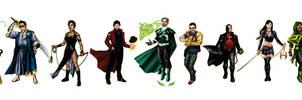Cerebra Superheroes by sean-izaakse