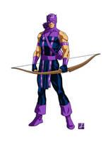 Avengers Hawkeye by sean-izaakse
