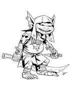 Goblin by sean-izaakse