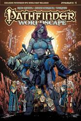 Pathfinder Worldscape #1 Cover by sean-izaakse