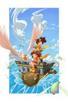 FLYING FISHES by CaptainPOZOL