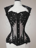Nyx-inspired commission - front view by v-couture-boutique