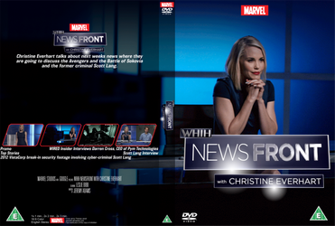WHiH NewsFront with Christine Everhart DVD cover by Wario64I