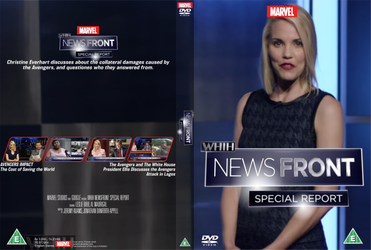 WHiH NewsFront - Special Report DVD cover by Wario64I