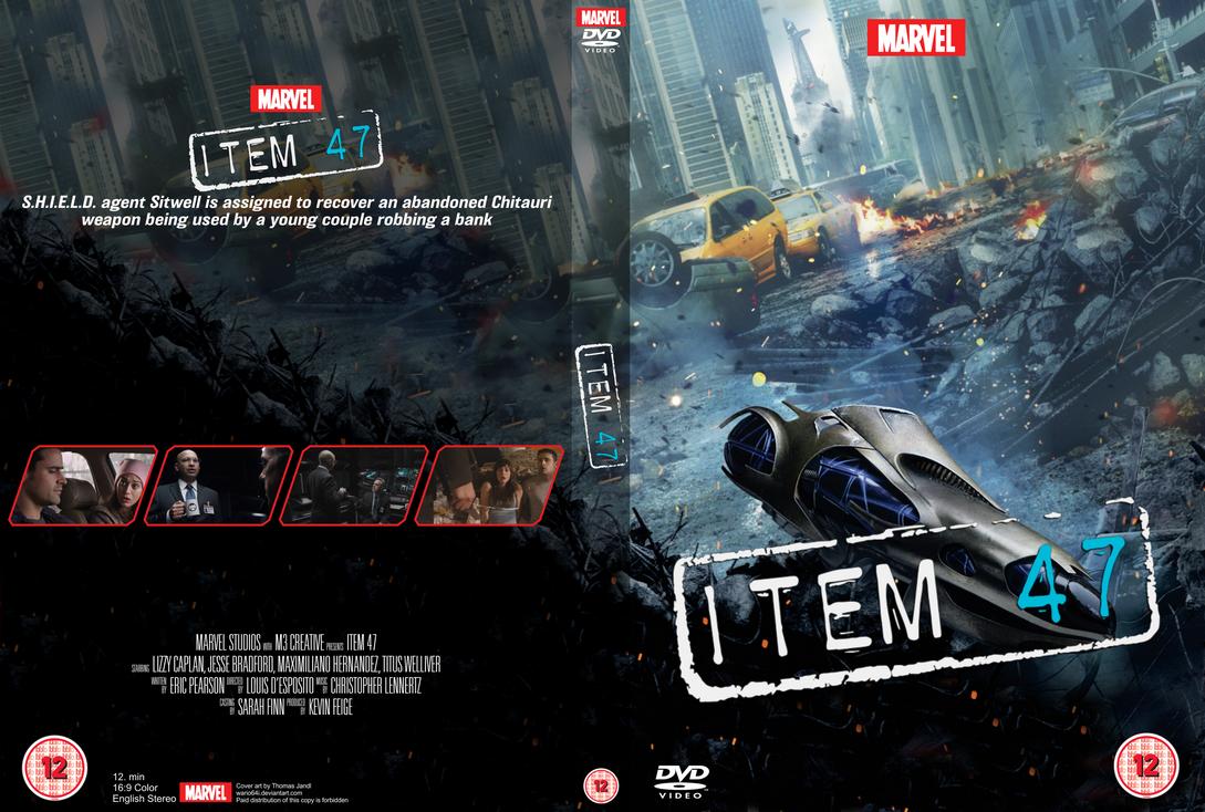 Marvel One Shot Item 47 Dvd Cover By Wario64i On Deviantart
