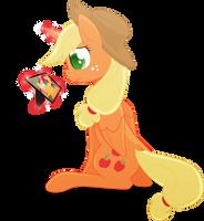 COMMISSION - Princess Applejack 2 by Emkay-MLP
