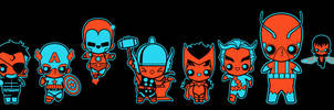 chibi avengers 001 by marisolivier