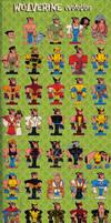 Wolverine evolution by marisolivier