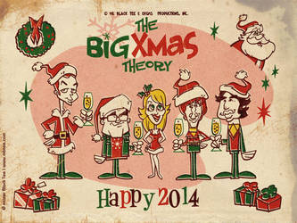 The Big Xmas Theory by marisolivier