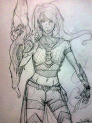 Supergirl Redesign by AydenSilverflame7