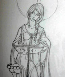 Lady Sigyn WIP by AydenSilverflame7